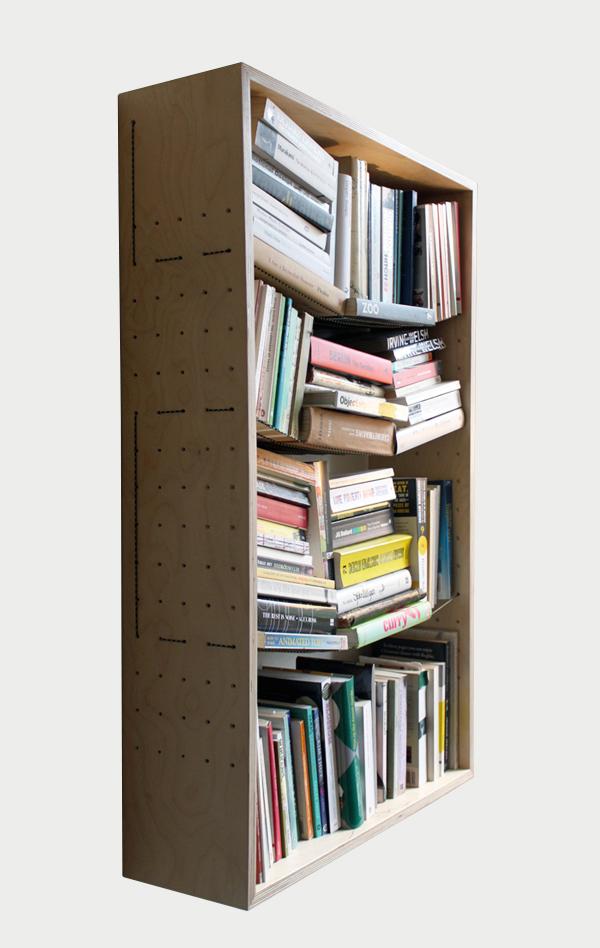 II B.S. shelves on grey